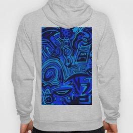 Blue symbols Hoody