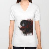 shingeki no kyojin V-neck T-shirts featuring Ackerman  by ururuty