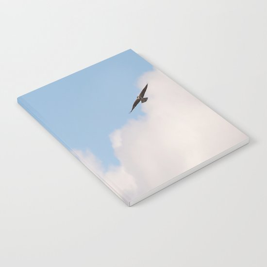 Osprey in Sky Notebook