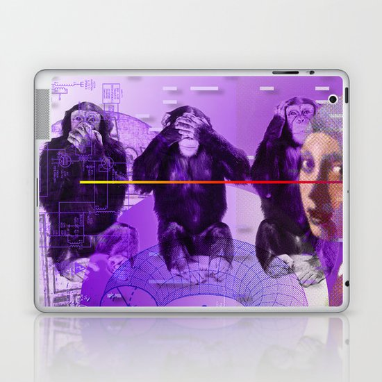 It's Just Not Gonna Happen < The NO Series (Purple) Laptop & iPad Skin