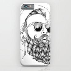 beard & sunglasses iPhone 6s Slim Case