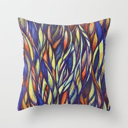 Attached 2 Throw Pillow