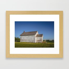 Ingersoll School, North Dakota 8 Framed Art Print
