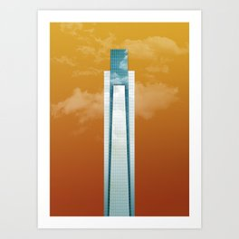 Comcast - Philadelphia Art Print