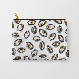 Hazel Eyes Carry-All Pouch