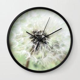 Dandelion Nature Flower # Wall Clock