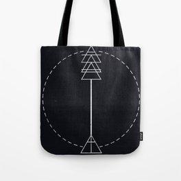 Arrow Glyph Tote Bag