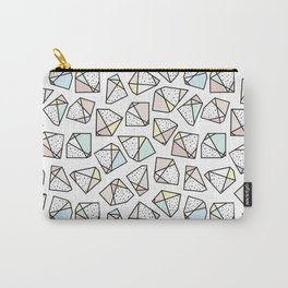 Polygonal stones and gemstones Carry-All Pouch