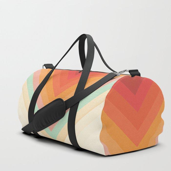 Rainbow Chevrons Sporttaschen