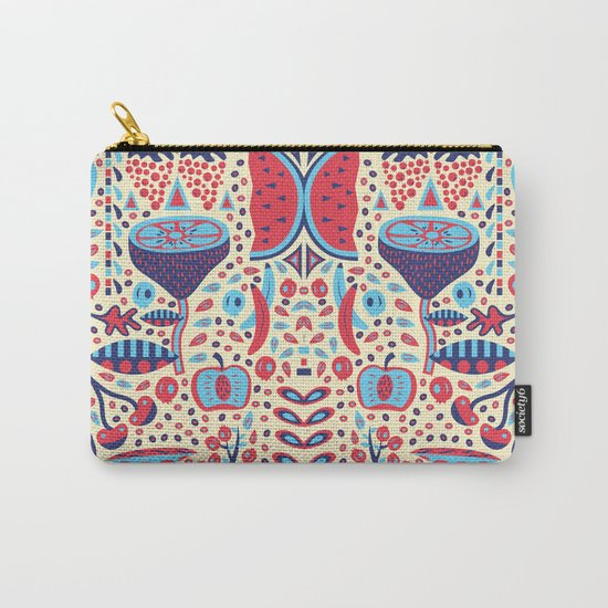 FRUIT PATTERNS Carry-All Pouch