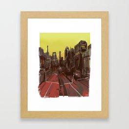 Interconnectivity Framed Art Print