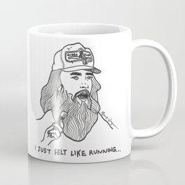 Forrest Gump Drawing Coffee Mug