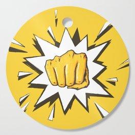 Yellow Fist by Star Cutting Board
