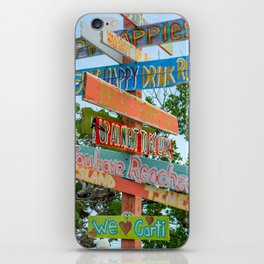 Island Directions iPhone Skin