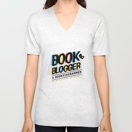 Book Blogger Unisex V-Neck