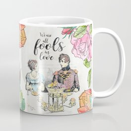 Pride and Prejudice - Fools in Love Coffee Mug
