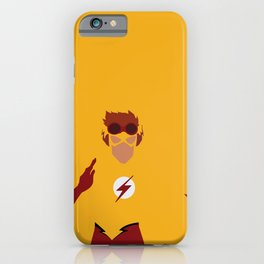 Wally West Minimalism iPhone Case