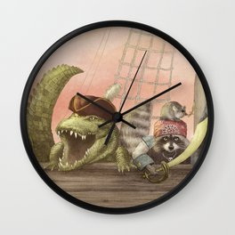 Pirates! Wall Clock