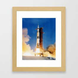 Apollo 11 Framed Art Print