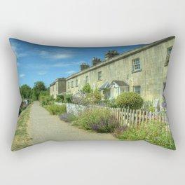 Bathampton Canal Cottages Rectangular Pillow