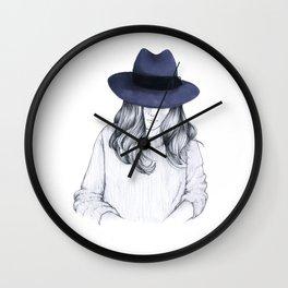 Girl on the Train Wall Clock