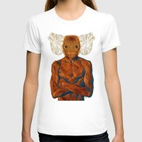 demon T-shirts featuring Demon by Rofi
