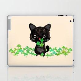 The Luckiest Cat Laptop & iPad Skin