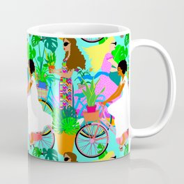 Botanical Boho Bicycle Babes Coffee Mug