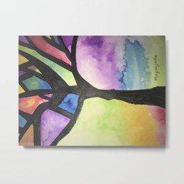 The Tree of Faith Metal Print