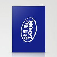 monkey island Stationery Cards featuring Monkey Island - Ask me about Loom by Sberla