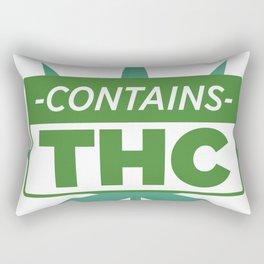 Contains THC Rectangular Pillow