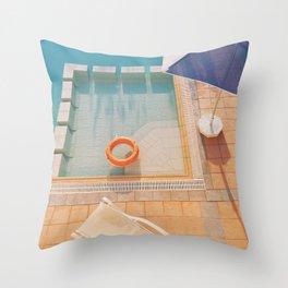 Swimming Pool Throw Pillow