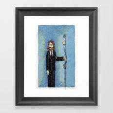 Uncle Misanthrope Framed Art Print