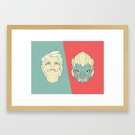 Phlegmatic/Choleric Framed Art Print