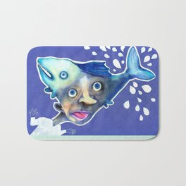 Fishes Bath Mat