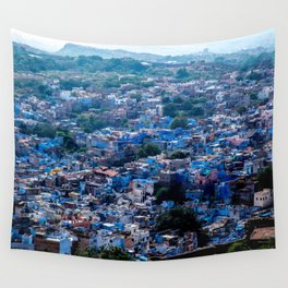 Blue City India Wall Tapestry