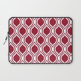 Crimson and white Alabama pattern university of alabama crimson tide college Laptop Sleeve