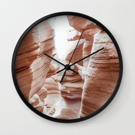 ANTELOPE CANYON XXXVII Wall Clock