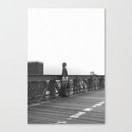 Brooklyn Bridge in Summer Canvas Print