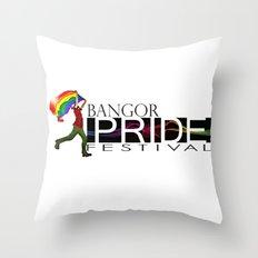 Bangor PRIDE Festival 2013  Throw Pillow