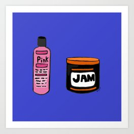 Its never just been hair Art Print