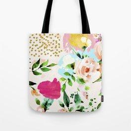Floral Blush #society6 #decor #buyart Tote Bag
