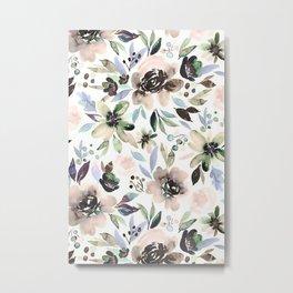 Flower Series IX Metal Print