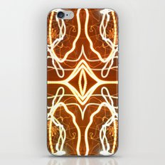 Night Lights Long Exposure Fractal iPhone & iPod Skin