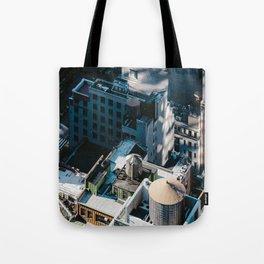 New York sky view Tote Bag