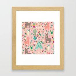 Lamas Framed Art Print