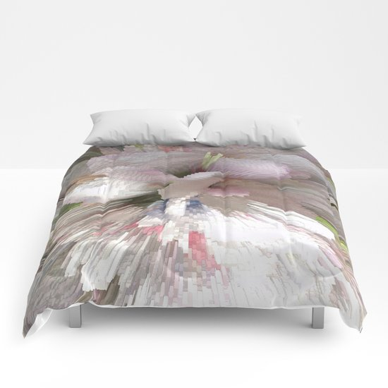 Abstract apple tree Comforters