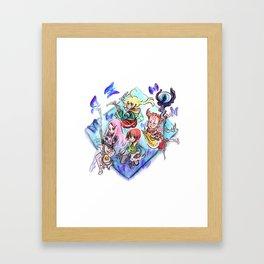 Final Fantasy Tactics Advance // Children in Ivalice Framed Art Print