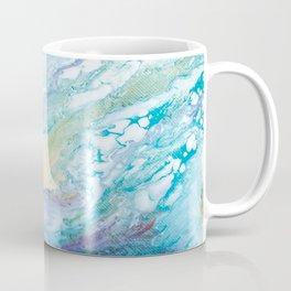 Purple and Blue Abstract Coffee Mug