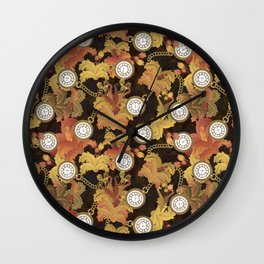 old times Wall Clock